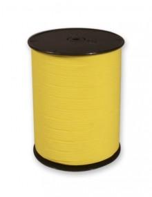 Geschenkband matt, 250mx10mm, gelb