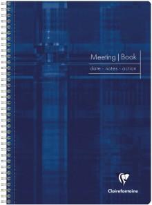 Meeting Book, blanko, 22,5 x 29,7cm 80 Blatt (90g/qm), farblich sortiert