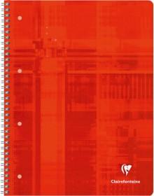 Collegeblock A4 kariert 80 Blatt 90 g/qm, satiniert, 4-fach Lochung,