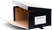 geöffneter Urkundenkasten