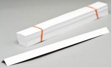 Urkunden-Heftstreifen 170 g/qm, weiß, 297x30 mm