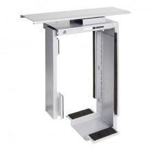 PC-Halterung Viewmate Schreibtisch für Computer bis 20kg, silber