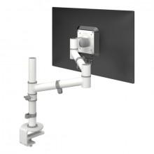 Monitorarm Viewgo 120 weiss für Monitore bis 8kg, verstellbar