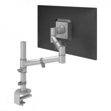 Monitorarm Viewgo 122 silber für Monitore bis 8kg, verstellbar