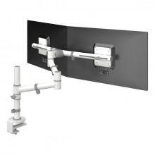 Monitorarm Viewgo 130 weiss für Monitore bis 20kg, verstellbar