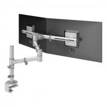 Monitorarm Viewgo 132 silber für Monitore bis 20kg, verstellbar