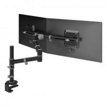 Monitorarm Viewgo 133 schwarz für Monitore bis 20kg, verstellbar