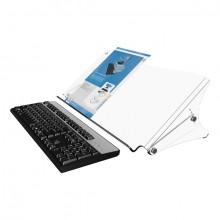 Dokumentenhalter Addit 400 acryl geeignet bis Größe A3, verstellbar