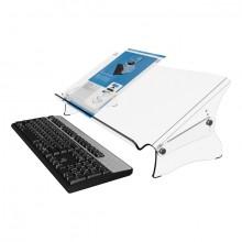 Dokumentenhalter Addit 410 acryl geeignet bis Größe A3, verstellbar