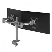 Monitorarm Viewmate 632 silber für Monitore bis 15kg, verstellbar