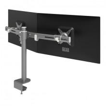 Monitorarm Viewmate 642 silber für Monitore bis 15kg, verstellbar