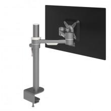 Monitorarm Viewmate 662 silber für Monitore bis 15kg, verstellbar