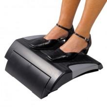 Fußstütze Addit 513 schwarz höhenverstellbar von 79 bis 111mm