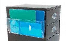 DocuPockets Wandhalter magnetisch A4 für Prospekte glasklar