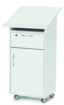 Deskin Stehpult Laudatus Farbe: Weiß
