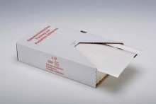 UNIPACK Begleitpapiertasche DIN Lang, ohne Druck, transparent