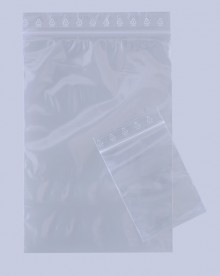 Debagrip Druckverschlussbeutel 160x220 mm, 50µ, transparent