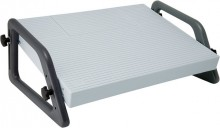 Fußstütze Relax verstellbar l.gr Trittfläche 450x350mm