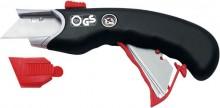 Cutter Safety Premium sw/rot inkl.5 Ersatzklingen