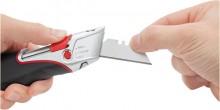 Cutter Safety Super schwarz/silber inkl.Folienschneider,automatischer