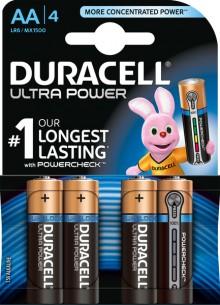 Batterie Alkaline, Mignon, AA LR06, 1.5V Ultra Power, Powercheck
