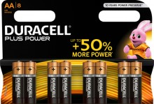 Batterie Alkaline, Mignon AA, LR06, 1.5V, Plus Power