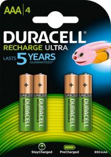 Akku NiMH, Micro, AAA HR03, 1.2V/900mAh Recharge Ultra
