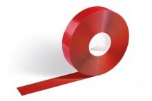 Bodenmakierungsband, rot, selbst- klebend, strapazierfähig, abriebfest