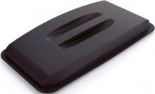 Deckel für DURABIN LID 60 schwarz rechteckig Griffmulde 501x57,5x272mm