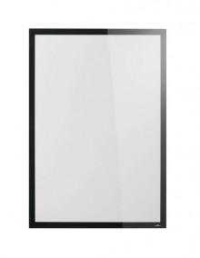 DURAFRAME Poster Sun A1, schwarz selbstklebend, für Schaufenster.