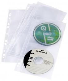 CD-DVD-Hülle zur Ablage von 4CDs/DVDs Universallochung für