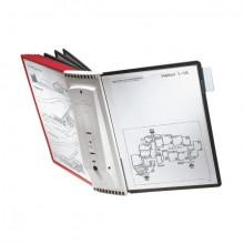 Sichttafel Display System wall 10 Sherpa 10 Tafeln A4 + Wandträger