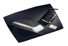 Schreibunterlage Artwork S, schwarz, Trapezform, mit Folienauflage,