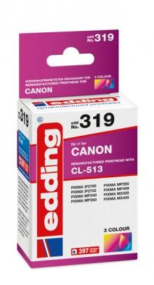 Edding Tinte 319 Canon 513 farbig Ersetzt: Canon CL-513, No.513