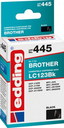 Edding Tinte 445 Brother LC123BK