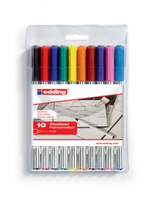 Fineliner office liner EF 89 10er Etui