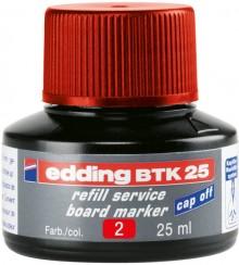 Nachfülltusche in Flasche 25ml rot rot für Boardmarker edding 28,29,