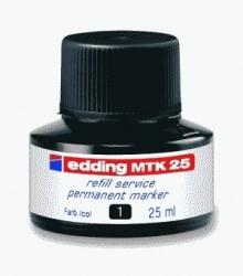 Nachfülltinte für Permanentmarker 25 ml schwarz