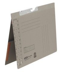Pendelhefter A4, Amtsheftung, Dehn- tasche, grau, 320 g/qm