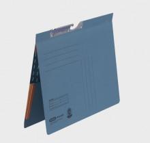 Pendelhefter A4, kfm. Heftung, Dehn- tasche, blau, 320 g/qm