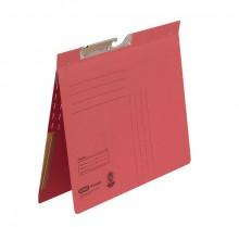 Pendelhefter A4, kfm. Heftung, Dehn- tasche, rot, 320 g/qm