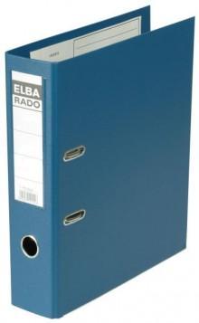 ELBA Ordner Rado-Plast A4 RB 80mm blau aus PVC