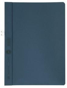 Klemmappen Manilakarton 250g/qm, A4, blau, für 10 Blatt