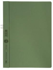 Klemmhandmappe, A4, für 10 Blatt, grün, ohne Vorderdeckel, 250g Manila-