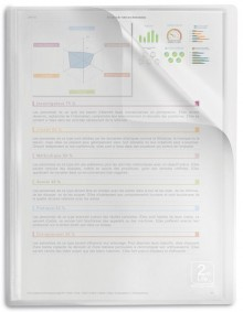 Sichtbuch 2nd Life A4, 20 Hüllen, Recyceltes PP, transparent