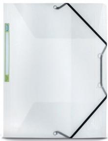 Eckspannermappe 2nd Life A4, Recyceltes PP, transparent,
