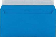 Briefumschlag C5/6 DL mit Fenster HK königsblau 100g 229x114mm