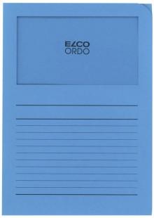 Organisationsmappe Ordo classico, intensiv-blau, m. Sichtfenster
