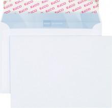 Elco Briefumschlag hochweiss mit grauem Innendruck, B6, 100 g, Haftklebung