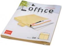 Briefumschlag braun, C4, 140 g, Haftklebung, 40mm Stehboden